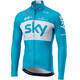 Castelli Team Sky Thermal Herre Blå